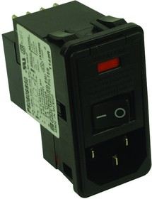 PS0S0DSX0, CONNECTOR, POWER ENTRY, RCPT, 10A, 250VAC