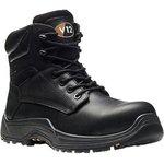 VR600.01/06, Bison Black Composite Toe Safety Shoes, UK 6
