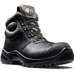 V6863.01/07, Rhino Black Composite Toe Safety Shoes, UK 7