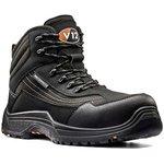 V1501.01/06, Caiman Black Composite Toe Safety Shoes, UK 6