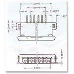 BT21020, Разъем FPC, 16 контактов