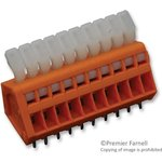 0233-0510, TERMINAL BLOCK, PCB, 10 POSITION, 28-20AWG