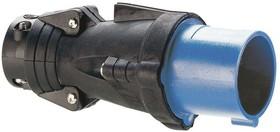 Вилка Hypra 2К+З 230В 32А IP44 Leg 052752