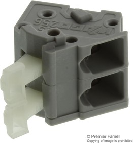 0256-0402, TERMINAL BLOCK, PCB, 2 POSITION, 28-12AWG