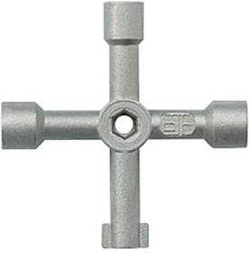Фото 1/2 Ключ универсальный для замков Leg 036842