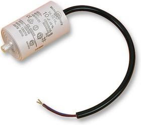 4.16.10.22.14, Пленочный конденсатор, 15 мкФ, Серия 4.16.10, 450 В AC, Проводные Выводы, ± 5%
