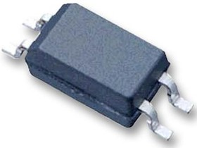 Фото 1/4 ACPL-217-500E, Оптопара, с транзистором на выходе, 1 канал, SOIC, 4 вывод(-ов), 50 мА, 3 кВ, 50 %