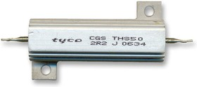 Фото 1/2 THS508R2J, Резистор, с осевыми выводами, 8.2 Ом, Серия THS, 50 Вт, ± 5%, Лепесток для Пайки, 1.25 кВ