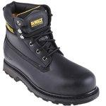 Hancock Black 10, Safety Boots, UK, US 11
