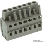 231-107/026-000, TERMINAL BLOCK PLUGGABLE, 7 POSITION, 28-12AWG