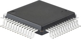 Фото 1/3 ADUC848BSZ62-5, Мультиканальный 16-бит АЦП с встроенной 62 kB Flash и Single-Cycle MCU [MQFP-52]