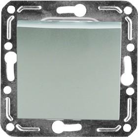 V01-15-P11-M (Переключатель/ выкл.проходной 1-кл. Argento(серебро), м-зм, Magenta )