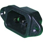 2141, CONNECTOR, POWER ENTRY, RECEPTACLE, 15A