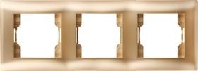 V01-16-A31-M (Рамка 3-мест. (Dorado), Magenta )