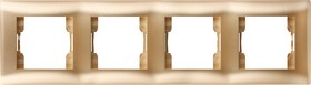 V01-16-A41-M (Рамка 4-мест. (Dorado), Magenta )