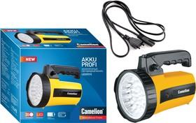 LED29315 (фонарь аккум. 220В, желтый, 35 LED, 6В 4А-ч, пластик, коробка)