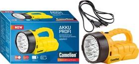 LED29317 (фонарь аккум. 220В, желтый, 19 LED, 6В 4А-ч, пластик, коробка)