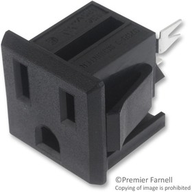 4300.0702, CONNECTOR, POWER ENTRY, SOCKET 15A