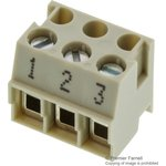 25.600.2353.0, TERMINAL BLOCK PLUGGABLE, 3 POSITION, 22-12AWG