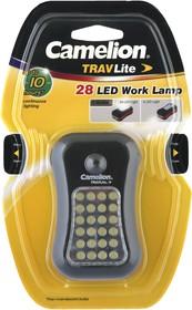 Сamelion SL7280-BP (автомобильный фонарь, 24+4 LED, 3XR03, пластик, магнит, подвес, блистер)