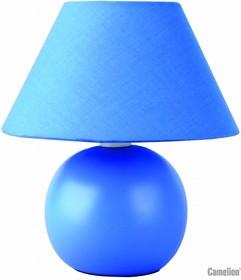 KD-408 C06 синий (Светильник настольн. декоративный, 220V,40W, E14)