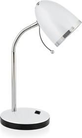 KD-308 C01 белый (Светильник настольный,230V 40W E27)