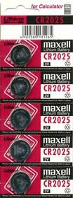 Micro Lithium Cell CR2025(3V) BL-5 (батарейка литиевая)