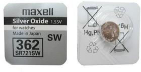 SR 721 SW (362, SR58, 1.55V батарейка для часов)