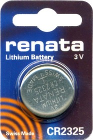 CR 2325 (батарейка литиевая Li/MnO2, 190mAh, 3V)