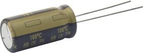Фото 1/2 EEUFK1E102L, Электролитический конденсатор, 1000 мкФ, 25 В, Серия FK, ± 20%, Радиальные Выводы, 10 мм