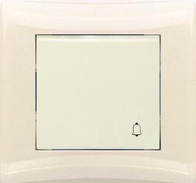 V01-12-Z11-S (Выключатель кноп. (крем), в сб. Magenta)