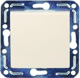 V01-12-P11-M (Переключатель/выкл. проходной 1-кл. (крем), м-зм, Magenta)