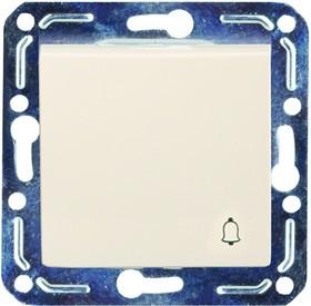V01-22-Z11-M (Выключатель кноп. (крем), м-зм, Violet)