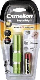 T5012-LR6BP (фонарь, флуор, 1 LED, 1XLR6 в комплекте, алюм., блистер)