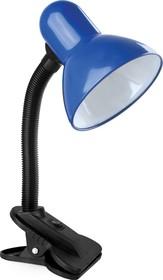 KD-320 C06 Синий (Светильник настольный с прищепкой 230В, 60Вт, E27, ЛОН)