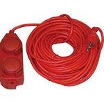 Фото 2/2 SG4x10-Z-R (Volsten), Удлинитель силовой, 16А, 10м, красный