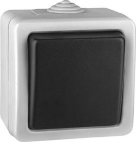 V01-43-P11-S (Переключатель/ выкл.проходной 1-кл. (Grey), в сб. Marin)