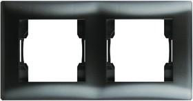 V01-14-A21-M (Рамка 2-мест. (Nero), Magenta )