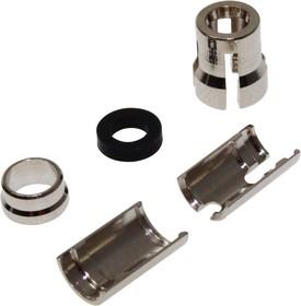 CCV1C/CE, Зажим круглого разъема, 4.1 мм, CamCirc, Разъемами CamCirc на кабель