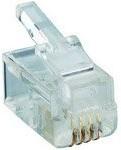 P 126, Разъем телефонный RJ10 4P4C на кабель