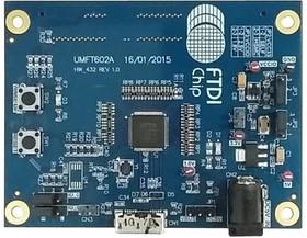 Фото 1/2 UMFT602A-B, Макетная плата, FT602 FIFO шина в USB 3.1, UVC мост, разъем HMSC