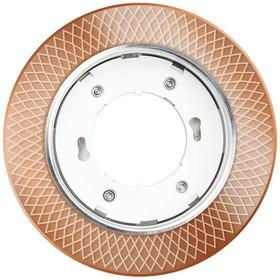 Светильник светодиодный PGX53d MG11-Gold GX53 точечный с подсветкой JazzWay 5020030