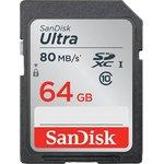 Фото 7/7 SDSDUNC-064G-GN6IN, Карта памяти SDXC 64 ГБ, Class 10