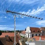 34-0415, ТВ антенна наружная «Активная» для цифрового ТВ DVB-T2, RX-415