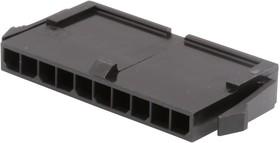 Фото 1/2 43640-1000, Корпус разъема, Micro-Fit 3.0 43640 Series, Штекер, 10 вывод(-ов), 3 мм