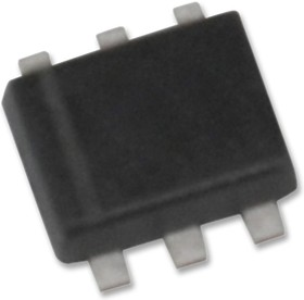 NX1029XH, Двойной МОП-транзистор, N и P Дополнение, 60 В, 330 мА, 1 Ом, SOT-666, Surface Mount