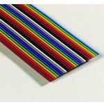 Фото 2/2 3302-26/100SF, плоский цветной кабель 1.27мм 26 жил 31 м