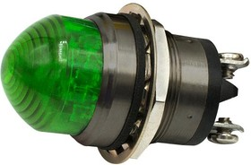 """556360A204F, 1""""DOME GRN LED PMI CONST INT 07AH2069"""