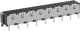 144663, Conn Board to Board F 50 POS 1mm Solder ST SMD T/R