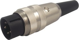 SV 40, Разъем DIN штекер, 4 pin на кабель